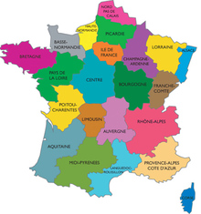 Cartefranceregion